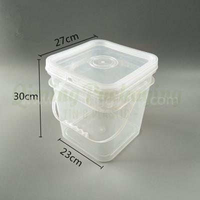 12L plastic bucket