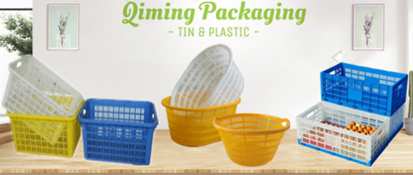 plastic basket crates
