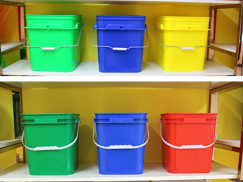 plastic square bucket1