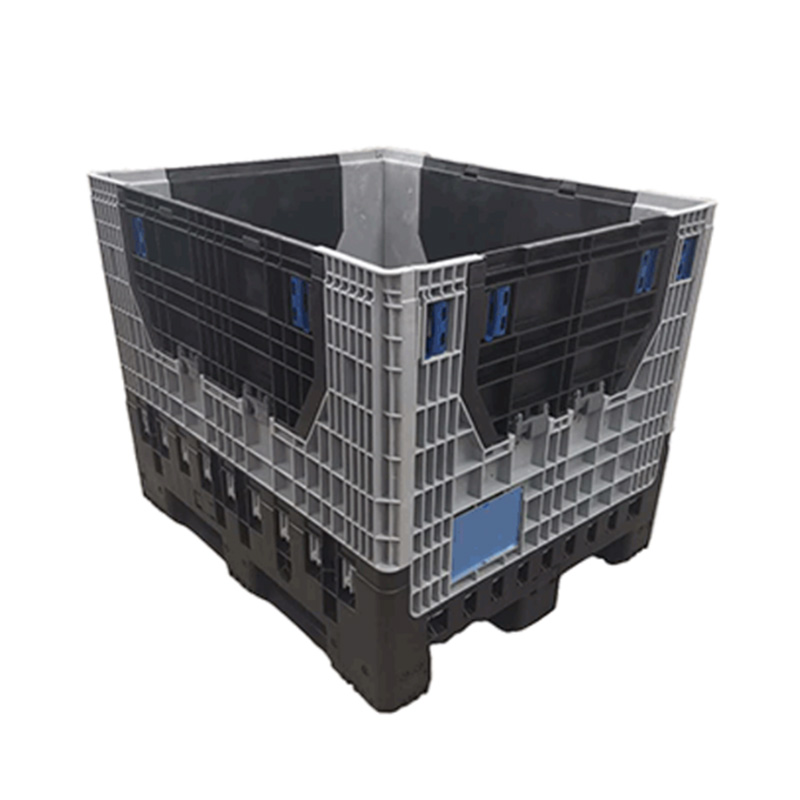 collapsible plastic pallet box for sale