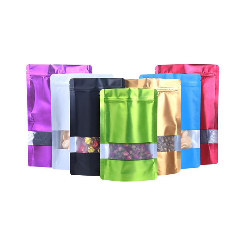 plastic ziplock standing pouch