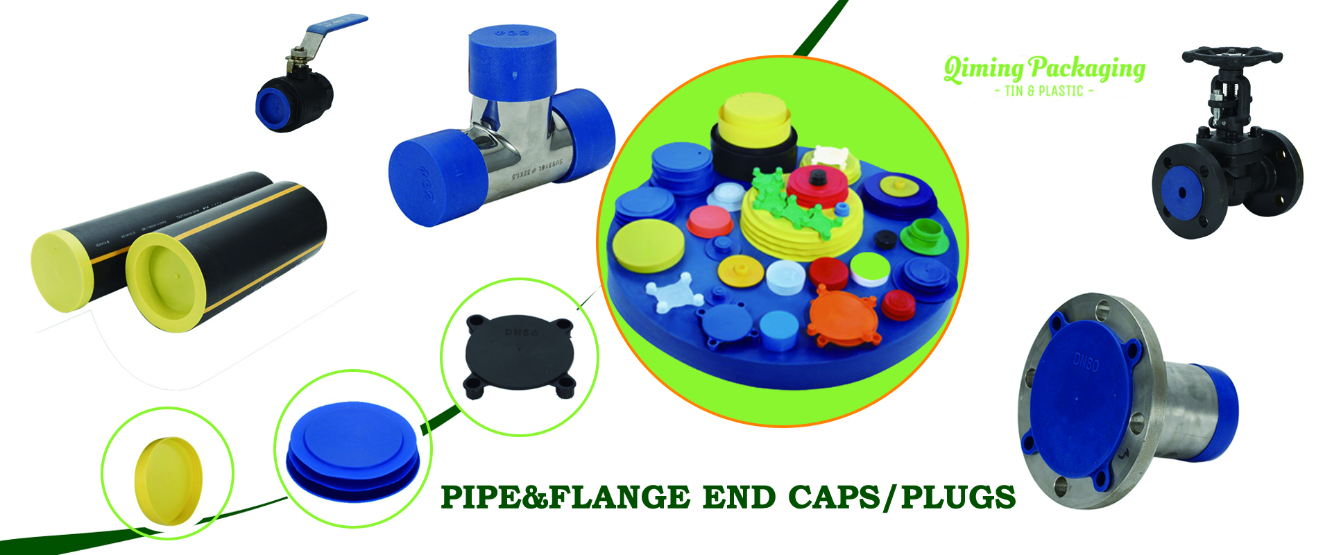 pipe end caps flange end protectors
