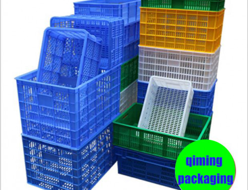 Plastic Turnover Crate For Vegetable