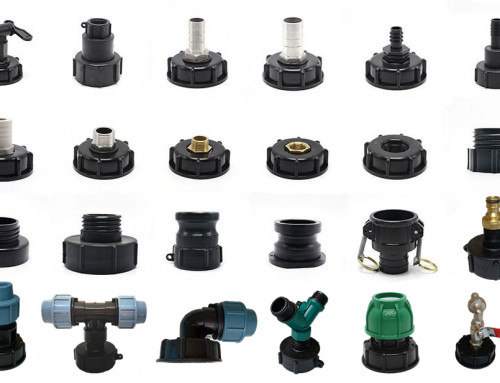 Free Samples Different Type of Plastic IBC Tote Adapter Connector