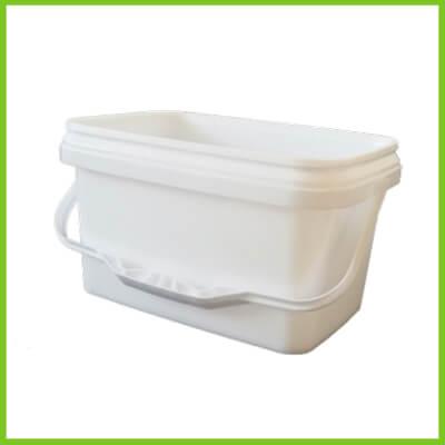plastic rectangular bucket pail