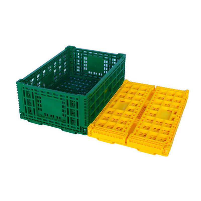 plastic folding crates
