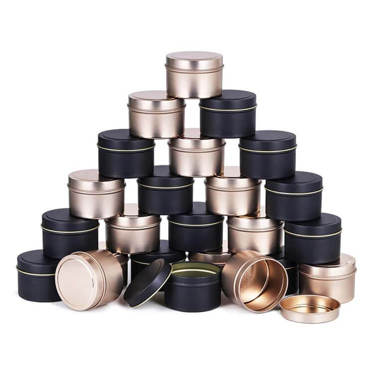 CANDLE TIN CANS