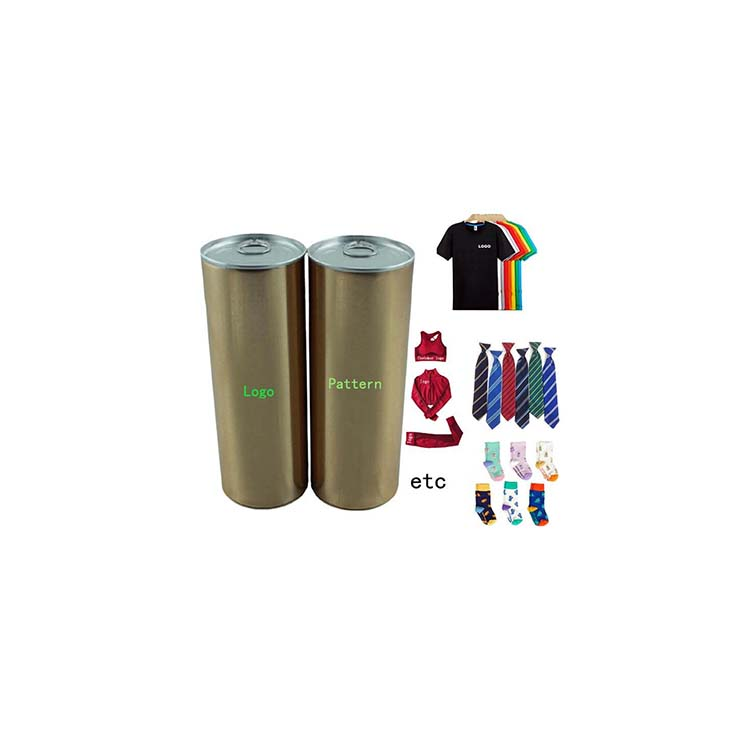 T-shirt Packaging TIN CANS