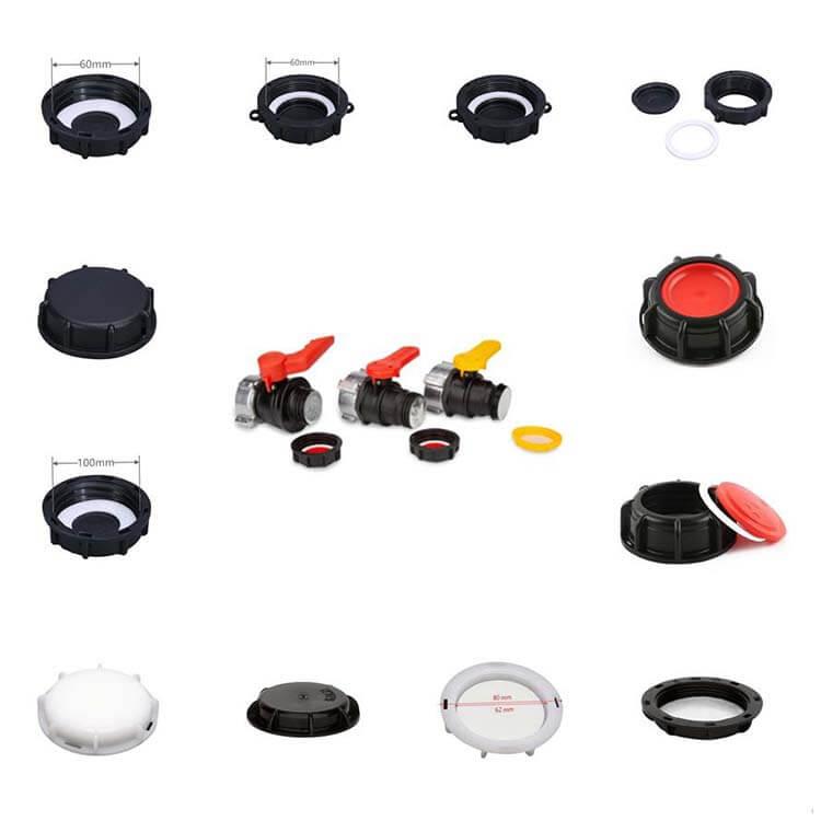 IBC valves caps